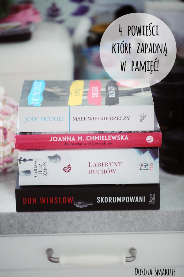 4 powieści, które zapadną ci w pamięć!