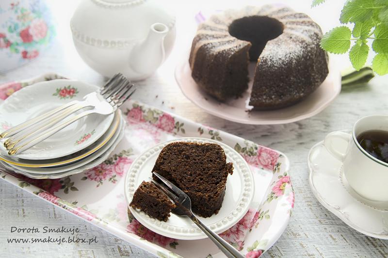 Babka czekoladowa orkiszowo-amarantusowa