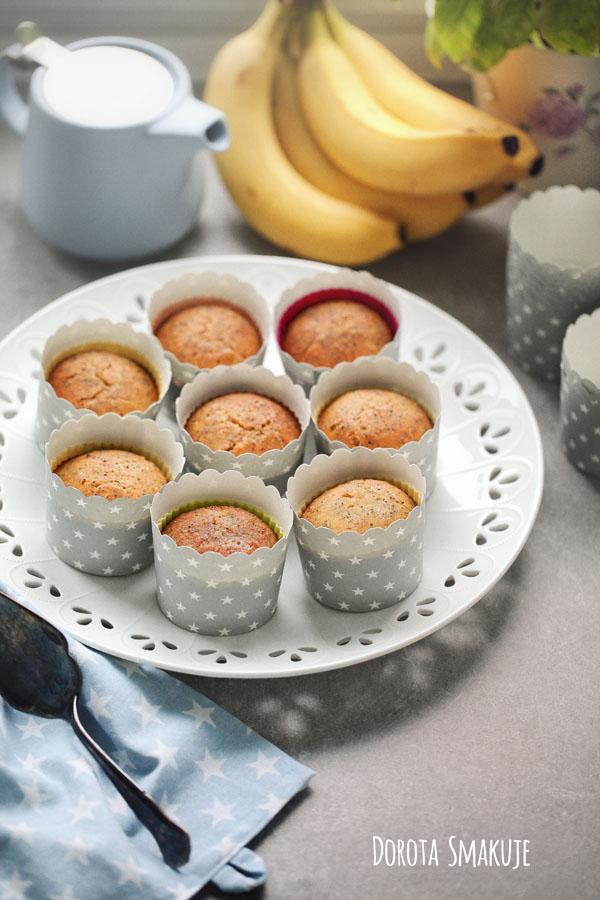 Bezglutenowe muffinki makowe