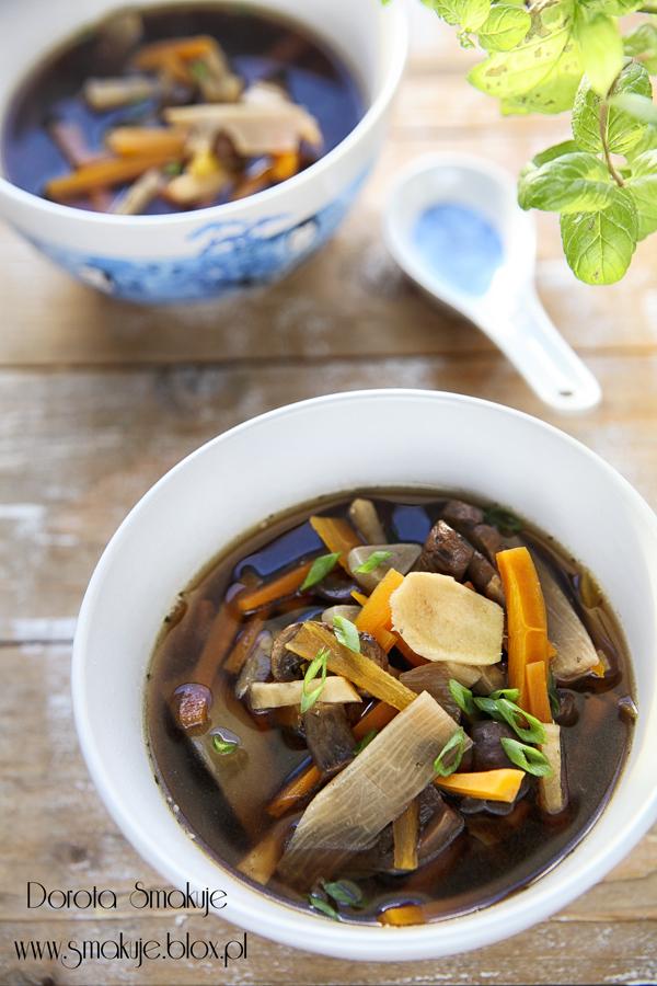 Zupa chińska słodko kwaśna