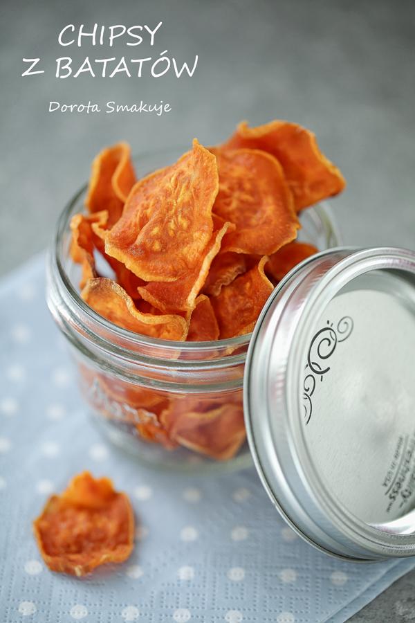 Chipsy z batatów – przepis