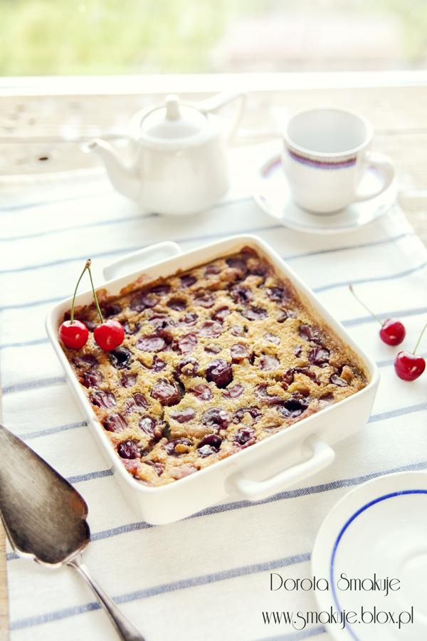 Clafoutis z czereśniami – letnie, francuskie ciasto