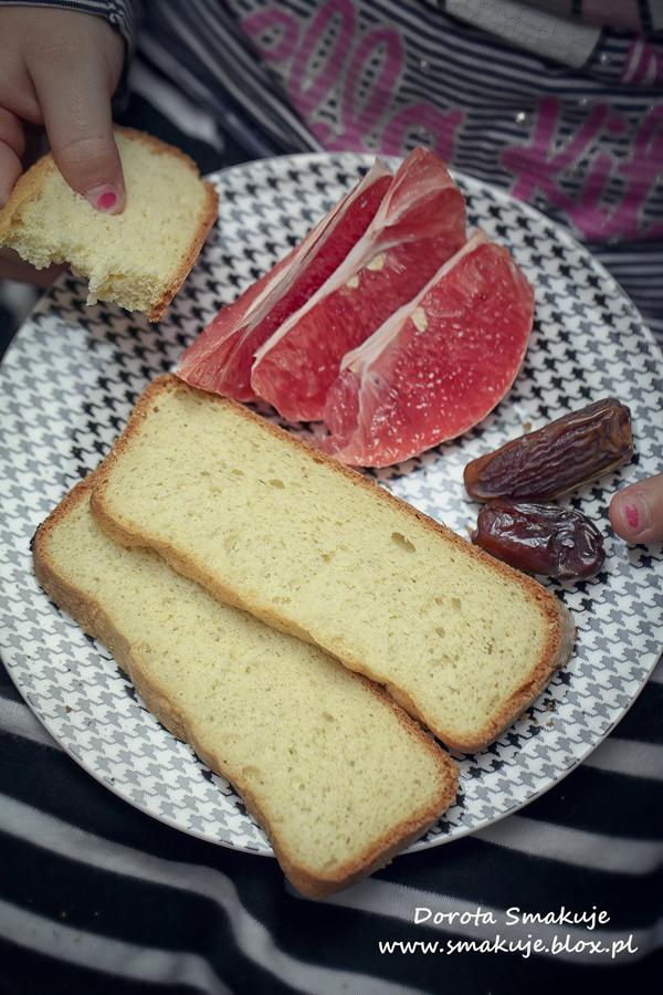 Ekspresowe ciasto biszkoptowe orkiszowo-jaglane na ksylitolu