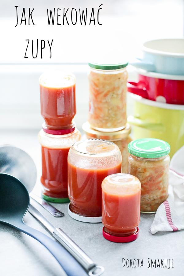 Jak wekować zupy w słoiku