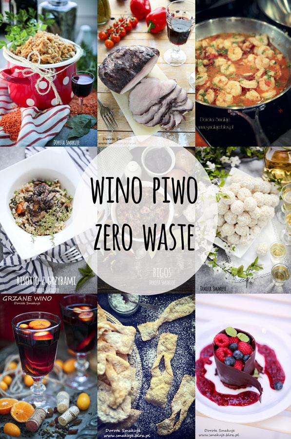 Jak wykorzystać resztki wina, szampana, piwa - Zero Waste