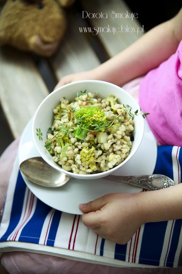 Kaszotto z tuńczykiem i warzywami