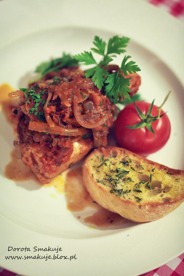 Kurczak myśliwego z Toskanii
