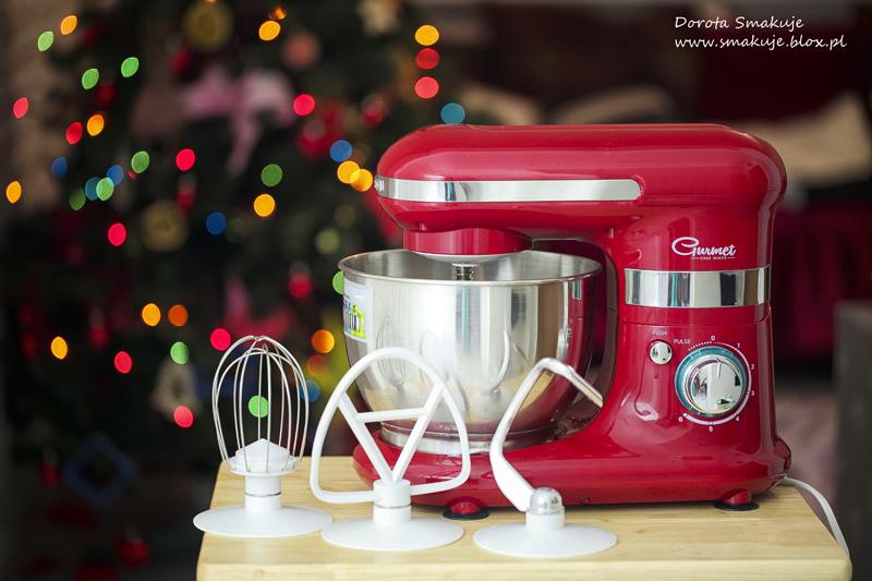Mini makowce z bezą i prezentacja Robota kuchennego Sencor STM 3018RS