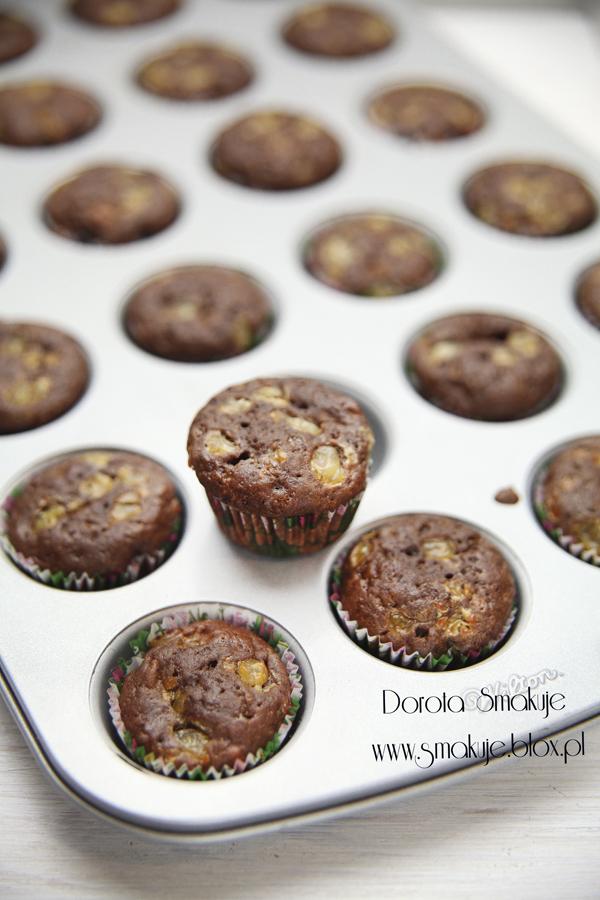 Muffinki z serkiem wiejskim