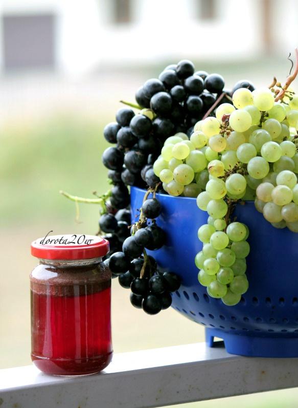 Naturalny sok winogronowy pasteryzowany