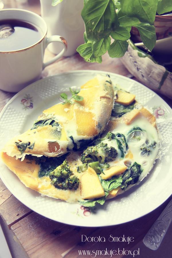 Omlet z dynią