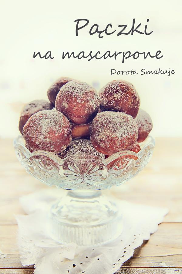 Pączki na serku mascarpone