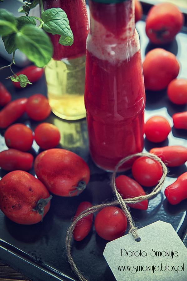 Sok pomidorowy pasteryzowany