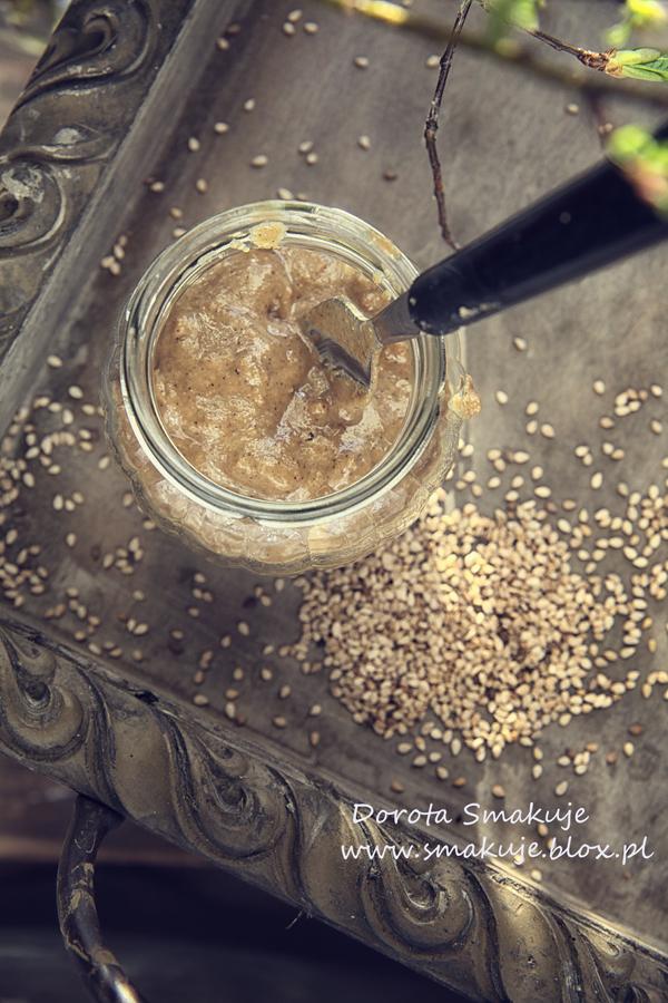 Tahini – domowa pasta sezamowa – przepis