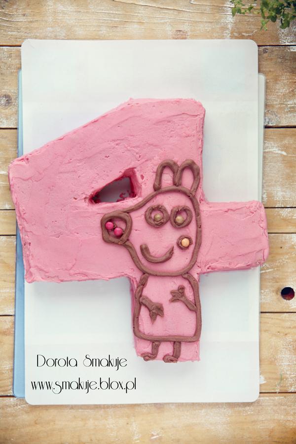 Tort dla czterolatka