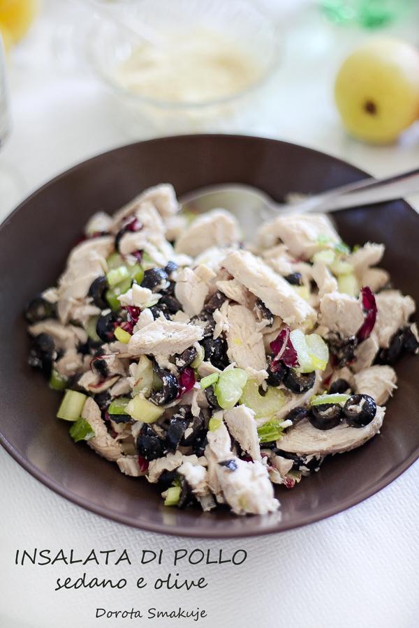 Włoska sałatka z kurczakiem – Insalata di pollo