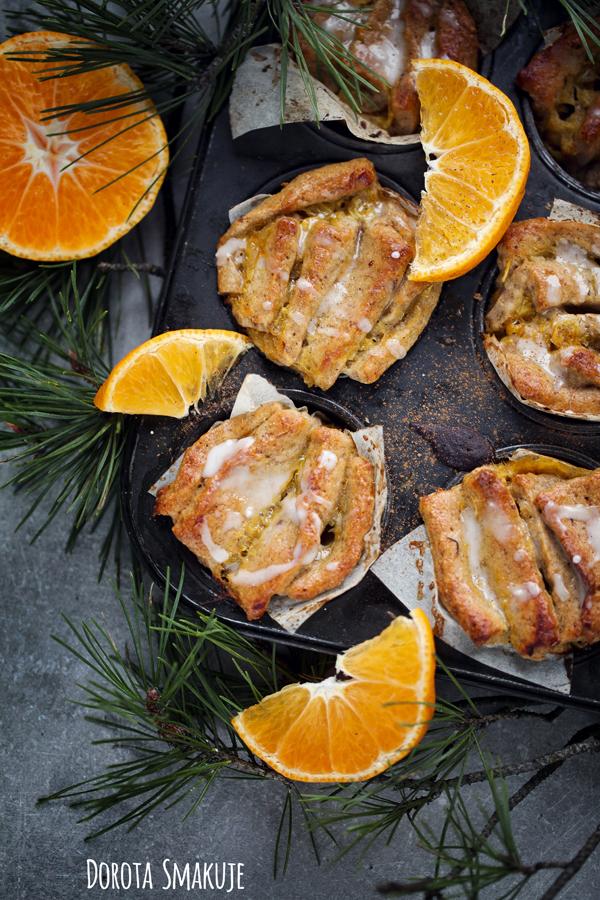 Bułeczki do odrywania pomarańczowo – cynamonowe