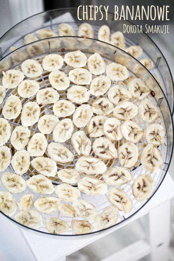 Chipsy bananowe - przepis