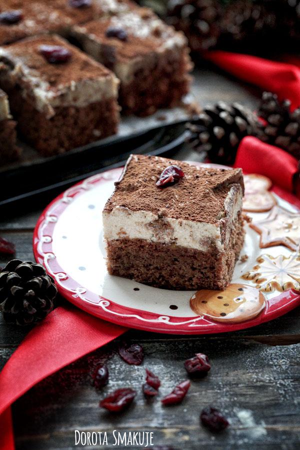 Ciasto Kostka piernikowa