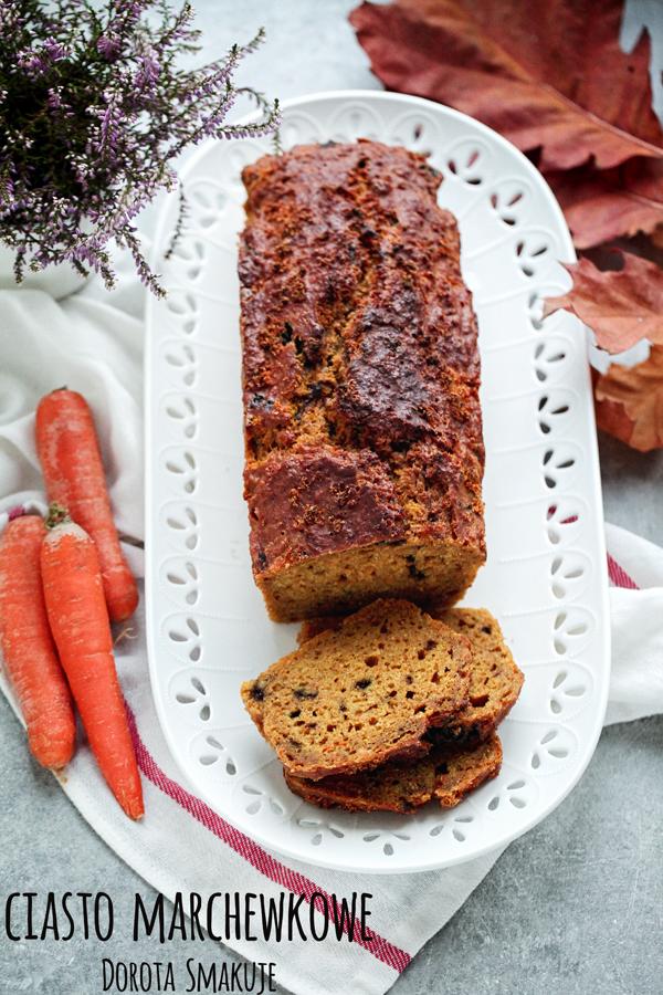 Ciasto marchewkowe z resztek z sokowirówki
