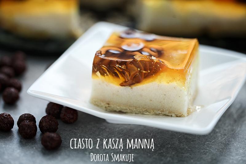 ciasto  z  kaszą  manną Dorota  Smakuje