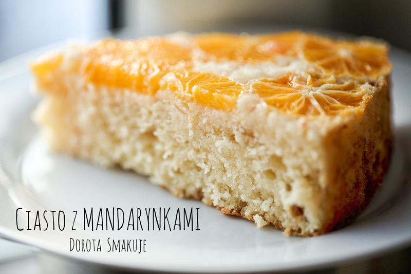 Ciasto z mandarynkami