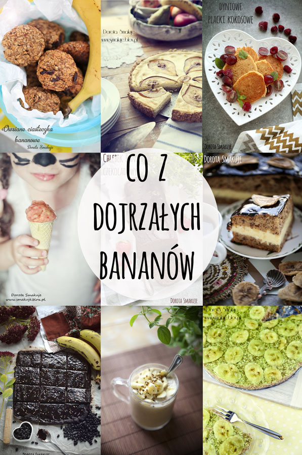 Jak wykorzystać dojrzałe banany <br> - kuchnia Zero Waste