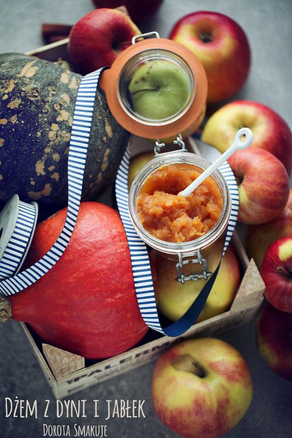 Dżem z dyni i jabłek