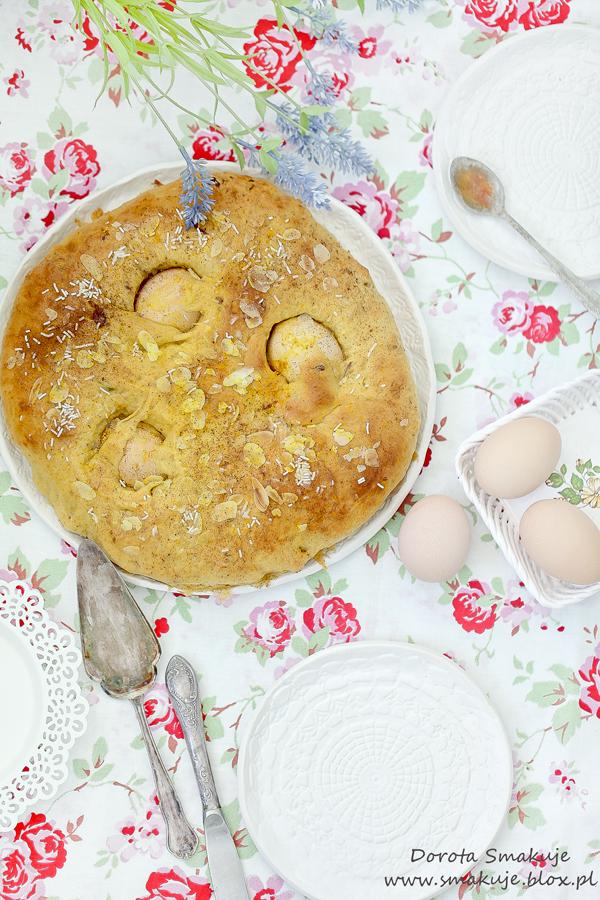 Folar de Pascoa – portugalskie ciasto wielkanocne