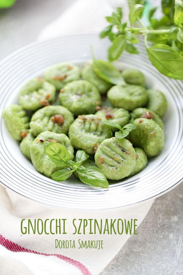 Gnocchi szpinakowe