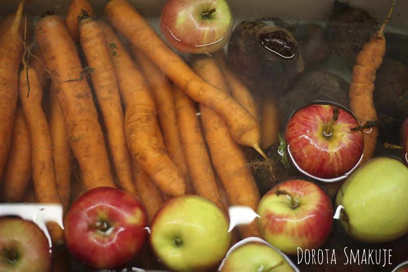 jak myc warzywa i owoce