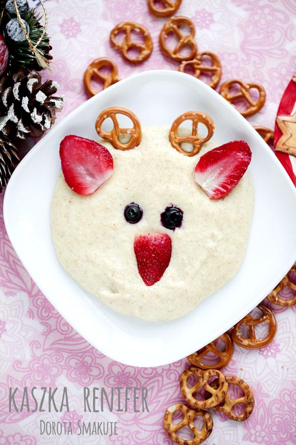 Kaszka Renifer <br>- śniadanie dla dzieci