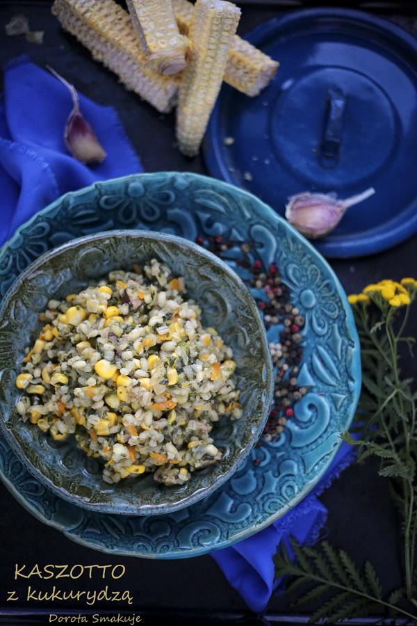 kaszotto z kukurydzą