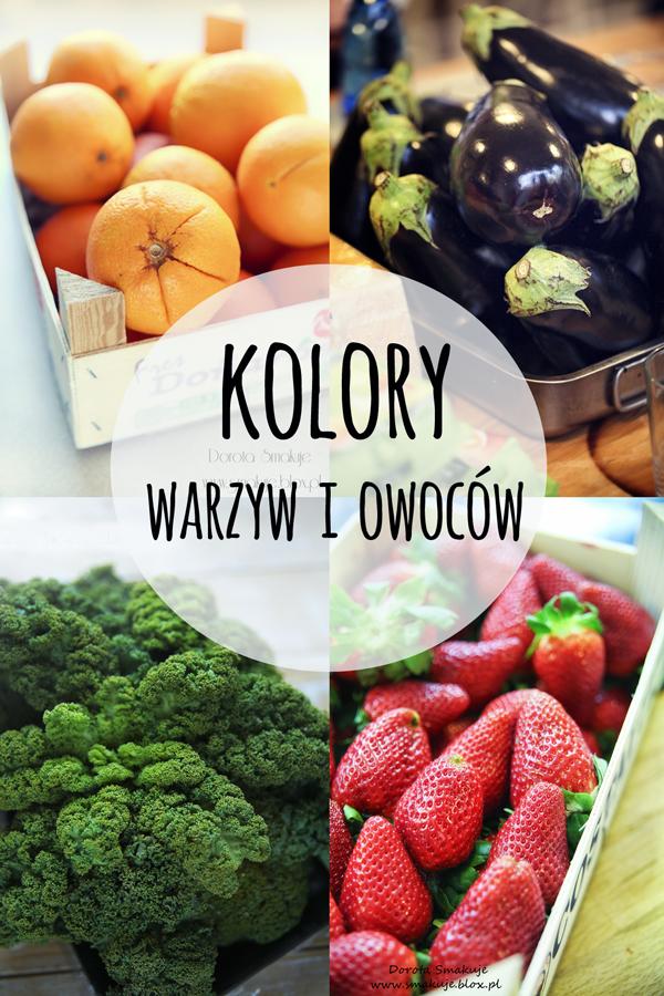 5 kolorów warzyw i owoców