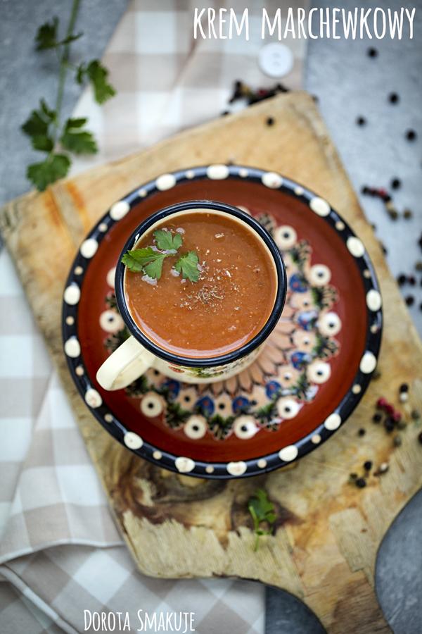 Zupa krem marchewkowy <br>- post dr Dąbrowskiej