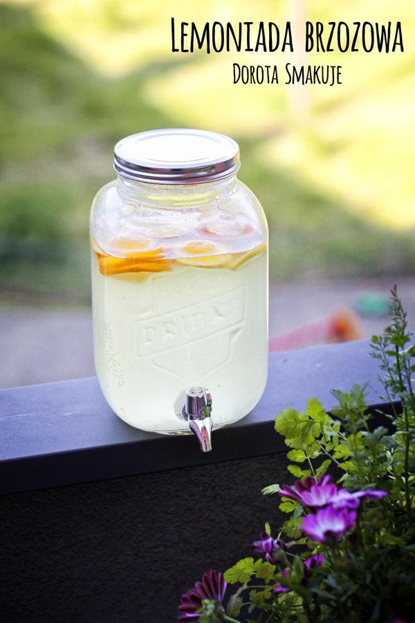 Lemoniada brzozowa