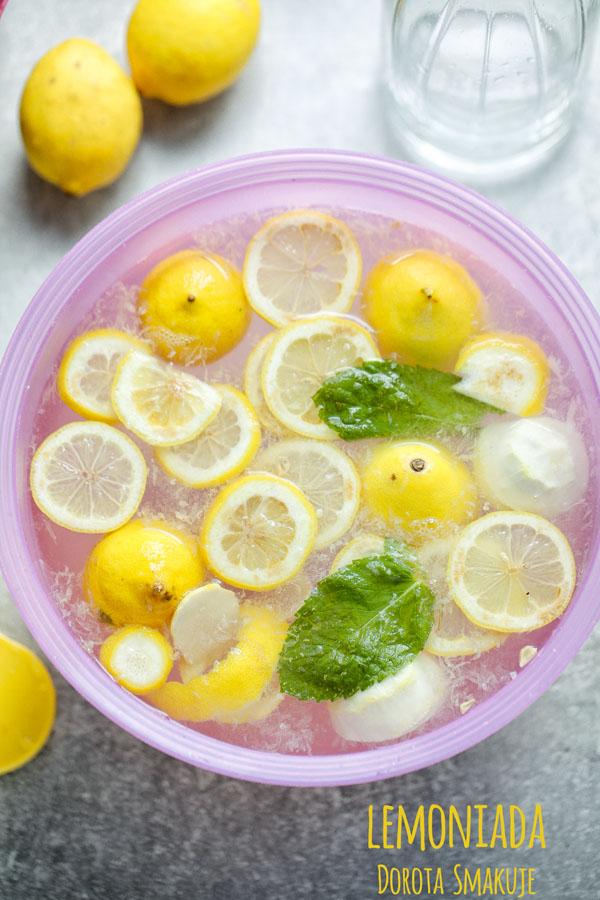 Lemoniada z cytryn