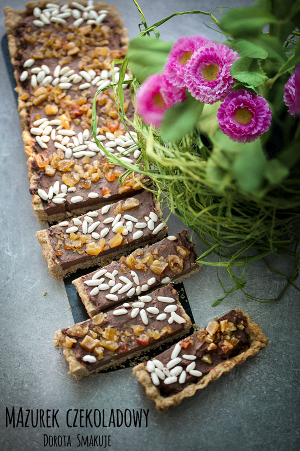 Mazurek czekoladowy najlepszy