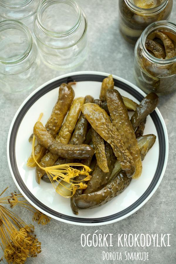Ogórki krokodylki z chili