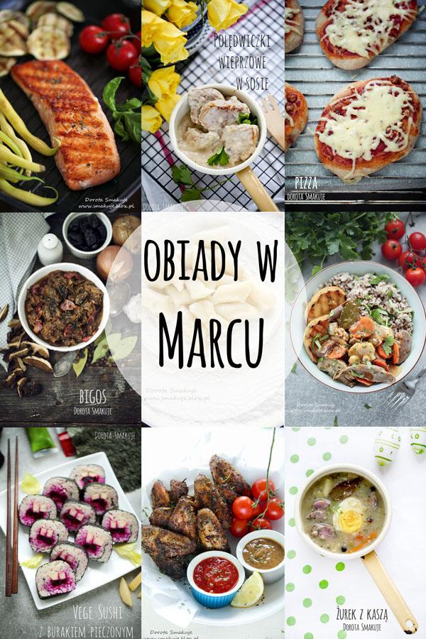 Pomysły na obiady w Marcu