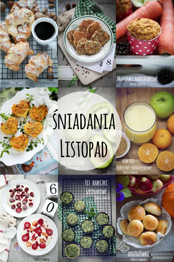 Pomysły na śniadania Listopad