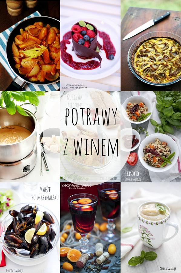 Potrawy z winem - przepisy
