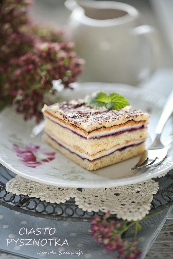 Ciasto Pani Walewska - Pysznotka