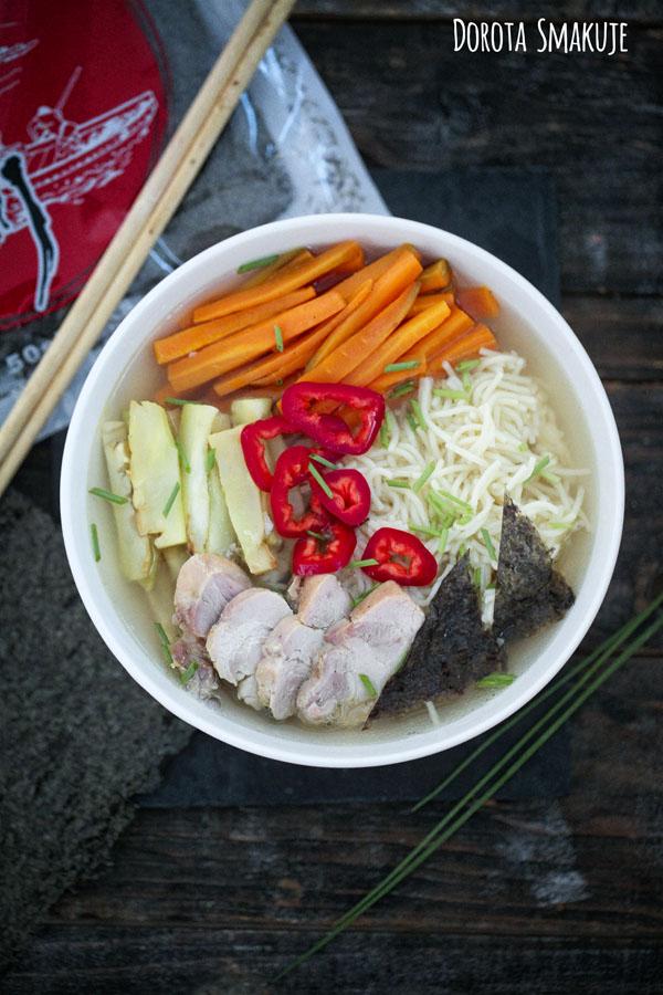 Zupa Ramen - przepis