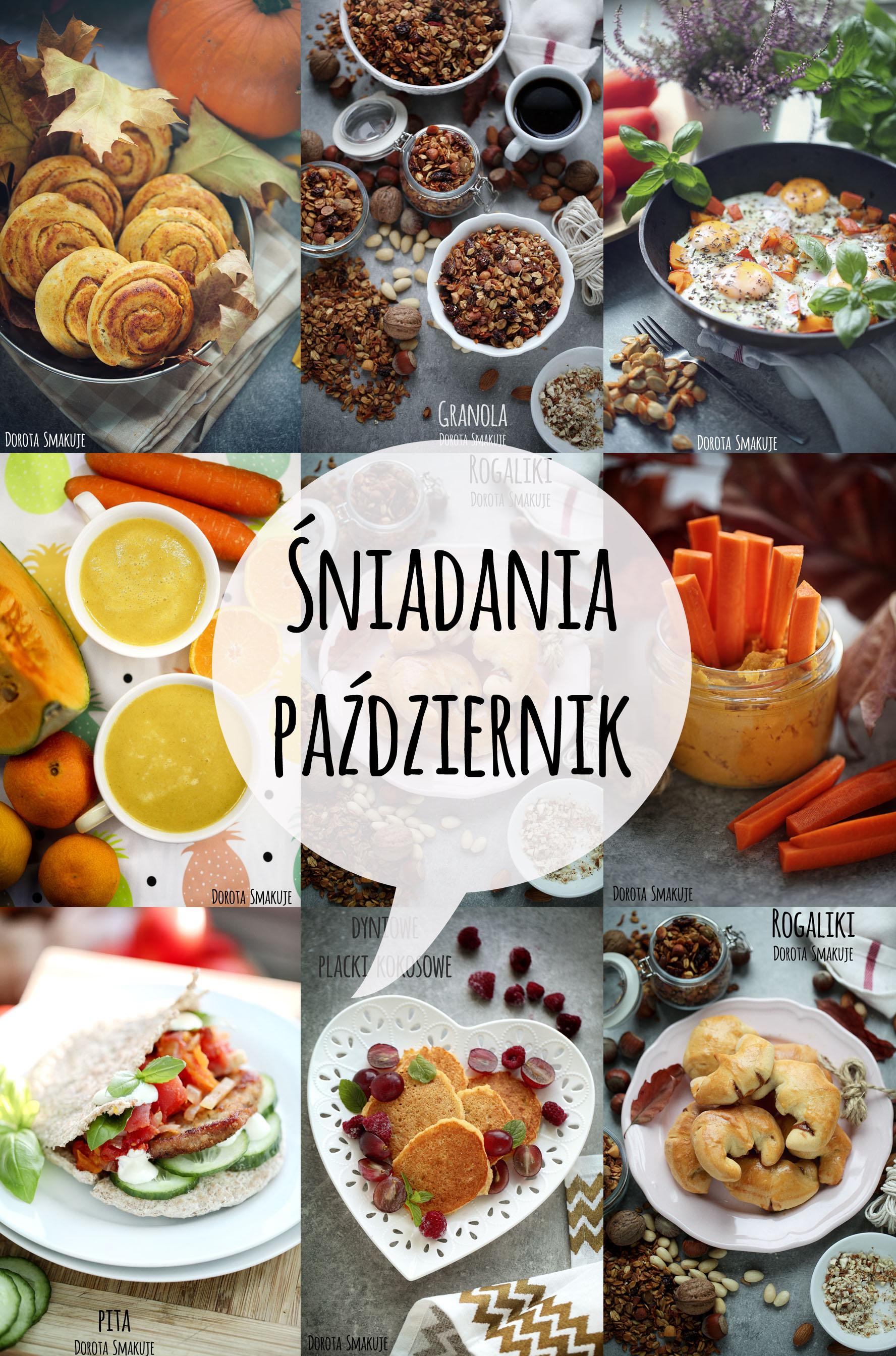Pomysły na śniadania w Październiku