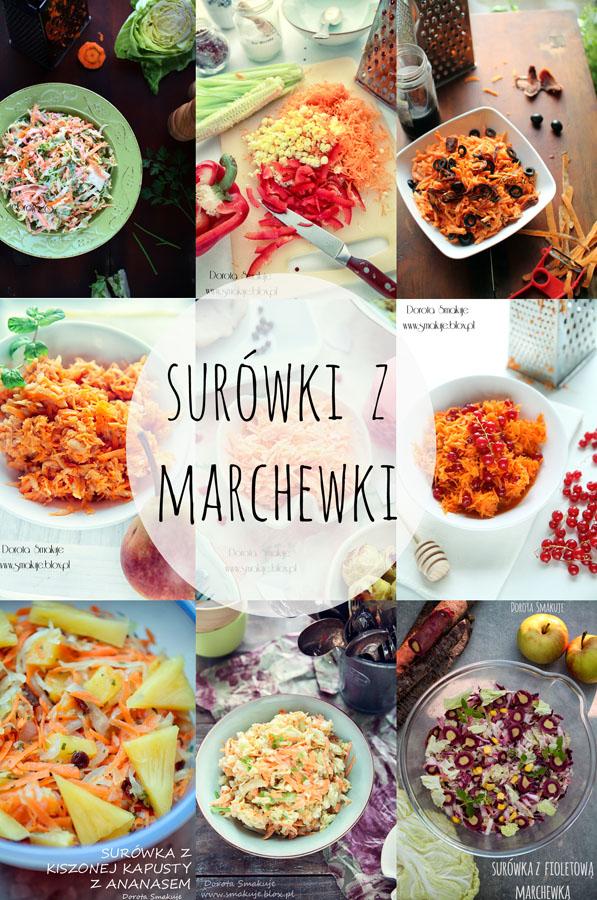 Surówki z marchewki - 25 przepisów