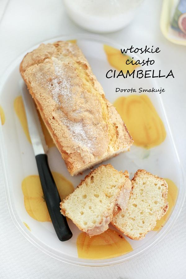 Włoskie ciasto Ciambella