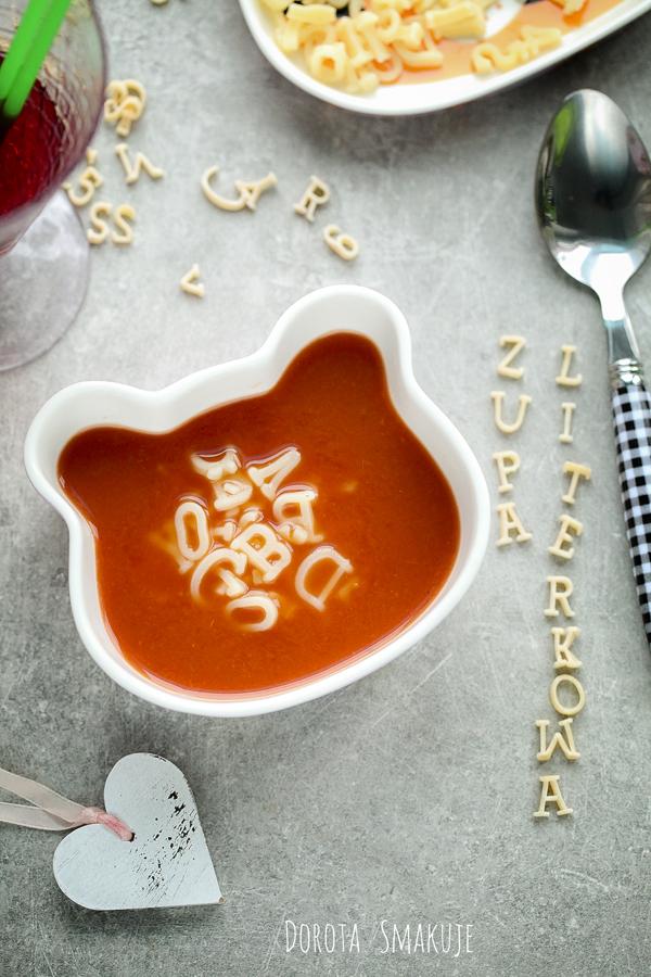 zupa literkowa