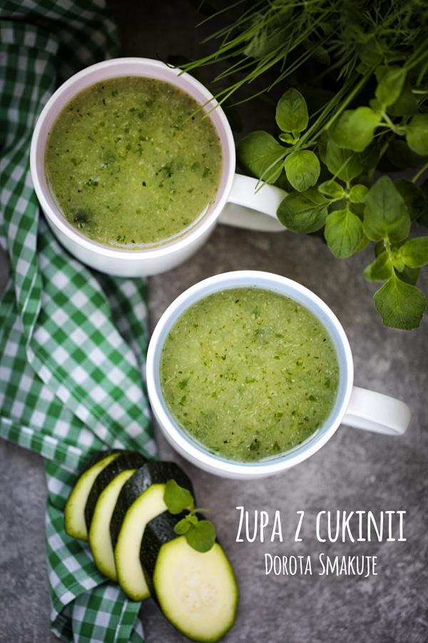 Zupa z cukinii – dieta dr Dąbrowskiej