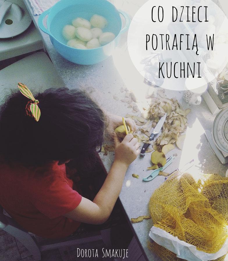 Co nasze dzieci potrafią zrobić w kuchni - lista według wieku